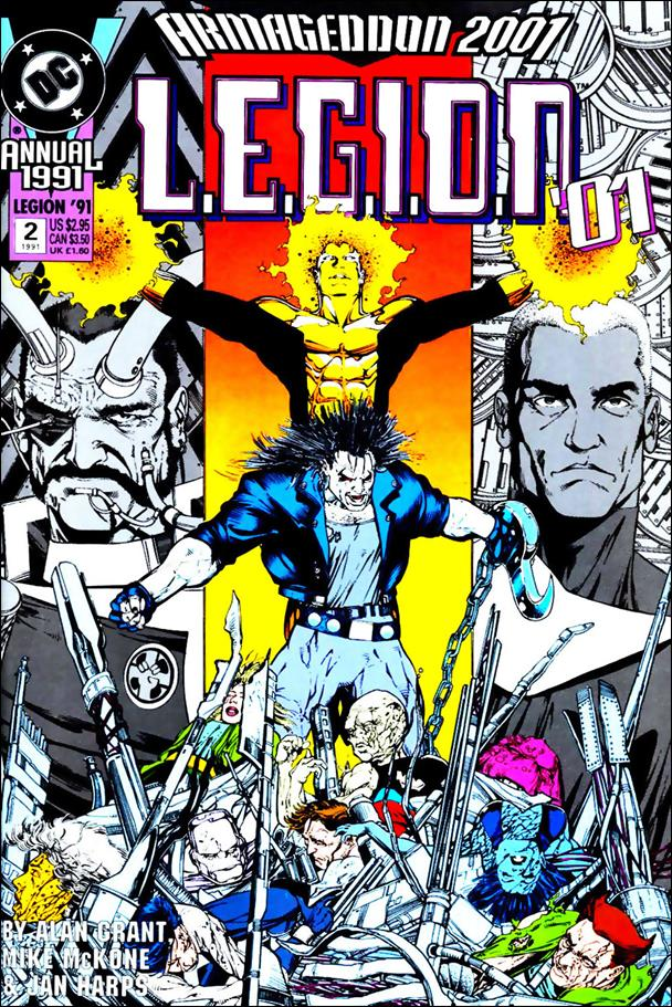 L.E.G.I.O.N. Annual 2-B by DC