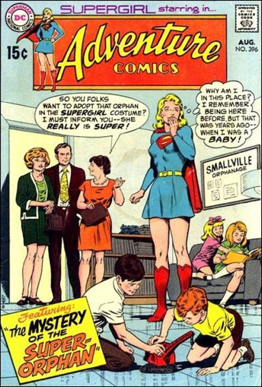 Adventure Comics (1938) 396-A by DC