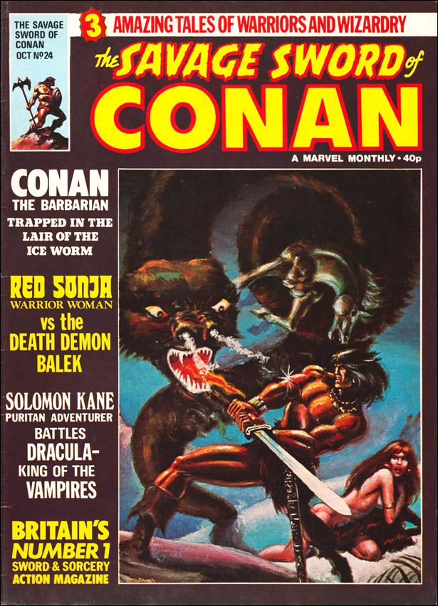 Savage Sword of Conan (UK) (1977) 24-A by Marvel UK