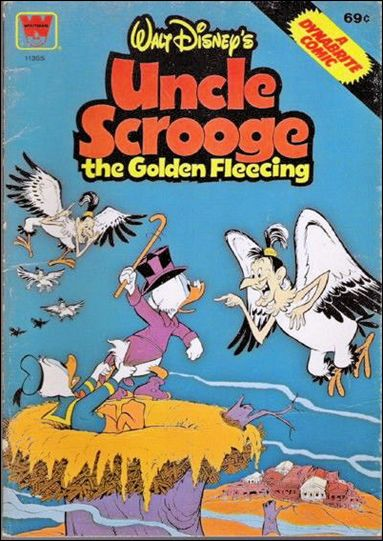 Walt Disney's Uncle Scrooge the Golden Fleecing 11355-A by Whitman