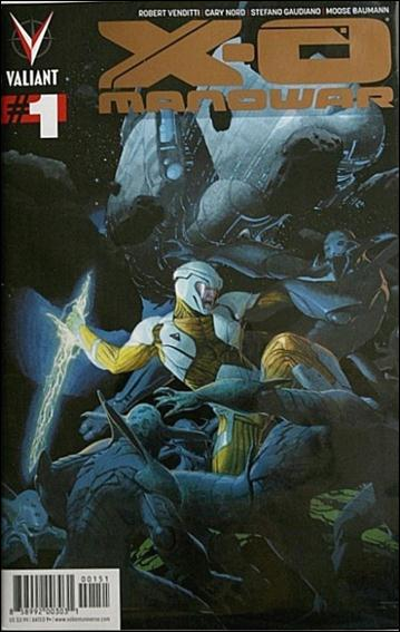 X-O Manowar (2012)  1-F by Valiant Entertainment