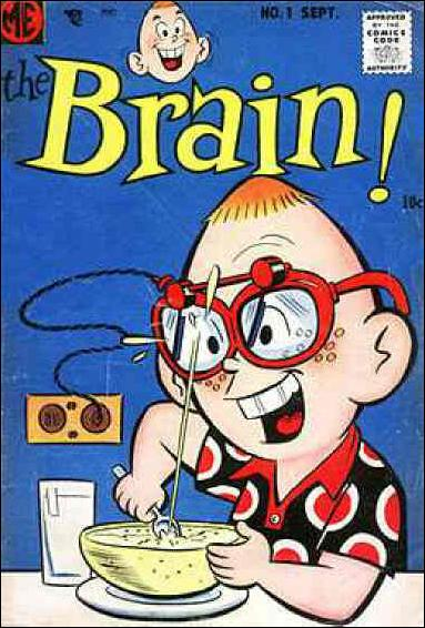 Brain (1956) 1-A by Magazine Enterprises