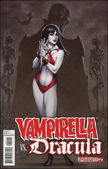 Vampirella vs. Dracula 2-A by Dynamite Entertainment