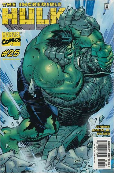 Incredible Hulk (2000)  25-A by Marvel