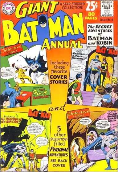 Batman Annual (1961) 4-A by DC