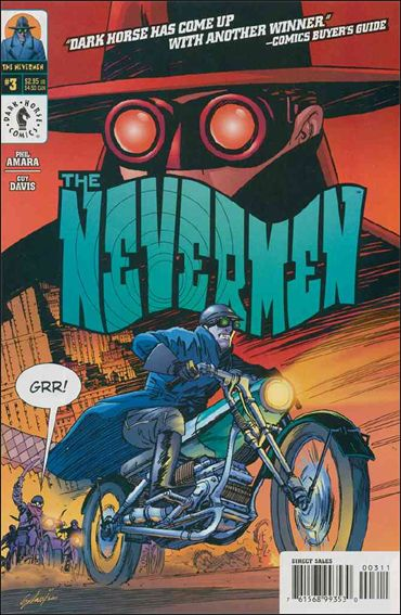 Nevermen 3-A by Dark Horse