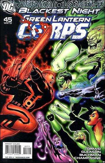 Green Lantern Corps (2006) 45-A by DC