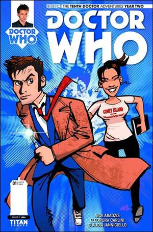Doctor Who: The Tenth Doctor Year Two 1-D
