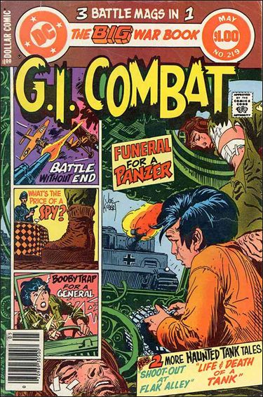 G.I. Combat (1952) 219-A by DC