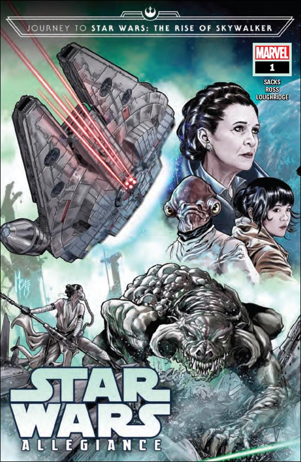 Journey to Star Wars: The Rise of Skywalker - Allegiance 1-A by Marvel