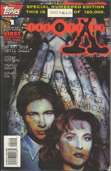 X-Files (1995) 1-B by Topps