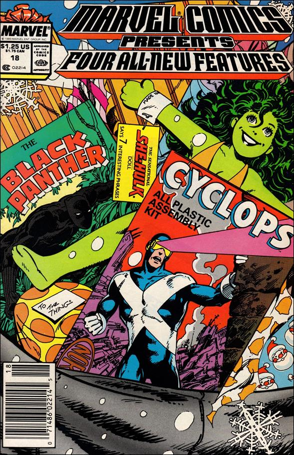 Marvel Comics Presents (1988) 18-A by Marvel