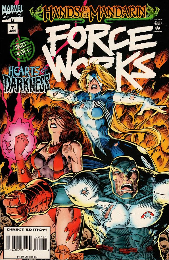 Force Works 7-A by Marvel