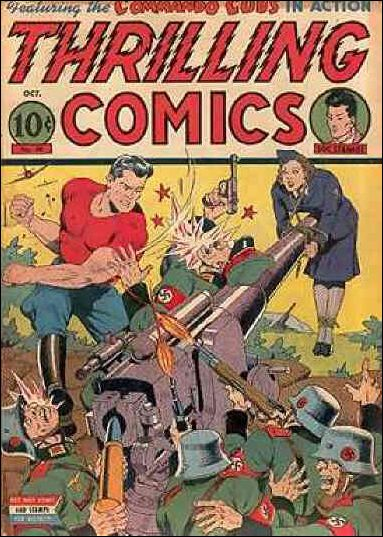 Thrilling Comics (1940) 38-A by Standard