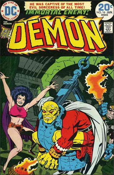 Demon (1972) 16-A by DC