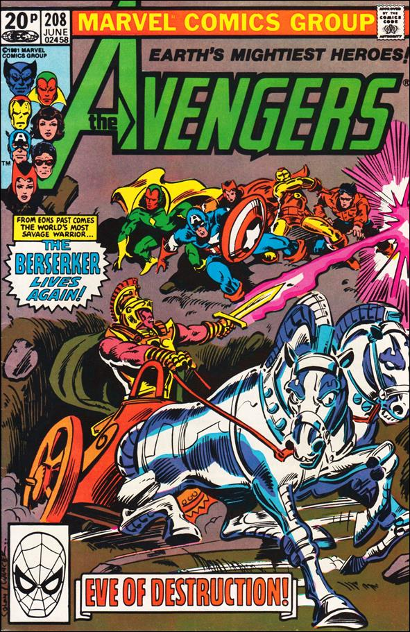 Avengers (1963) 208-B by Marvel