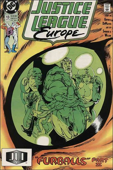 Justice League Europe 13-A by DC