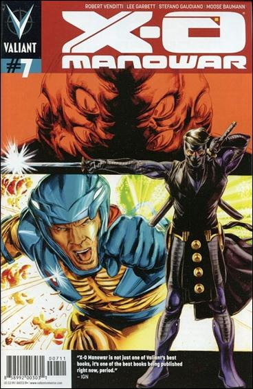 X-O Manowar (2012)  7-A by Valiant Entertainment