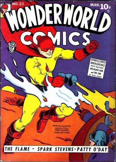 Wonderworld Comics 22-A by Fox