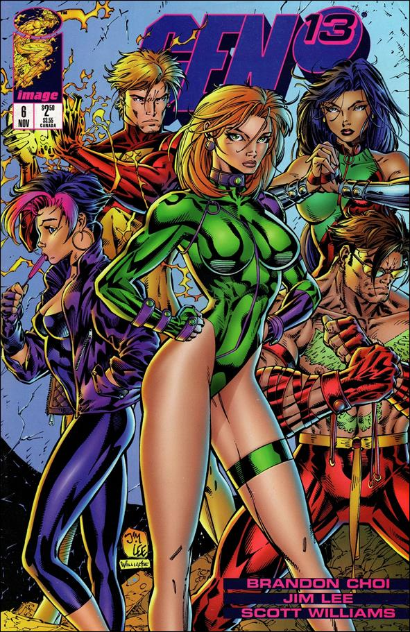 Gen13 (1995) 6-A by WildStorm