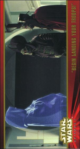 Star Wars: Episode I Widevision: Series 1 (Base Set) 4-A by Topps