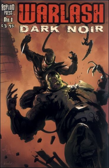 Warlash Dark Noir 1-A by Asylum Press