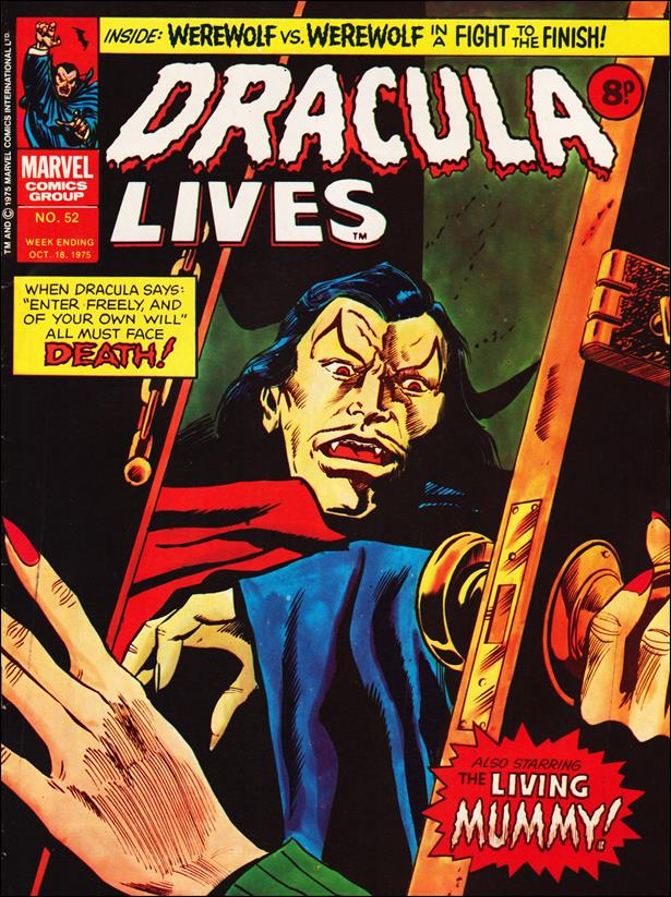 Dracula Lives (UK) 52-A by Marvel UK