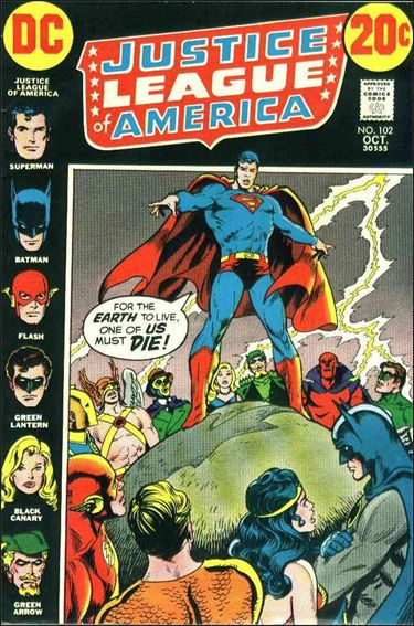 Justice League of America (1960) 102-A by DC