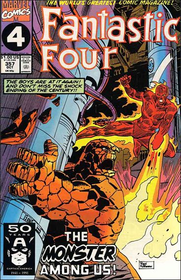 Fantastic Four (1961) 357-A by Marvel