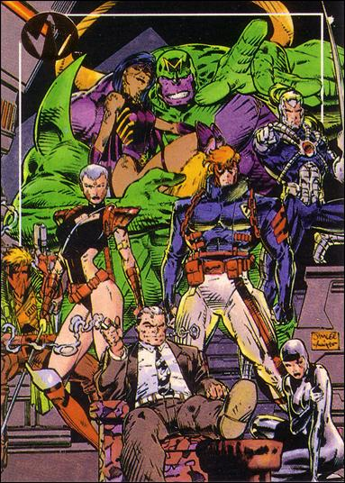 WildC.A.T.s: Set 1 (Base Set) 1-A by Topps