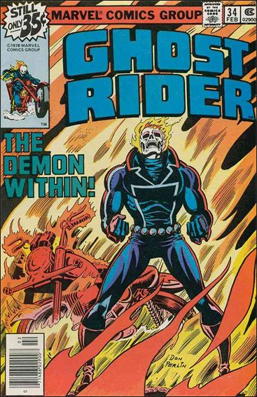 Ghost Rider (1973) 34-A by Marvel