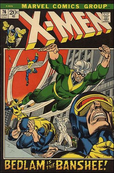 X-Men (1963) 76-A by Marvel