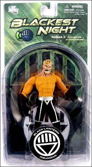 Blackest Night (Series 3) Black Lantern Aquaman by DC Direct