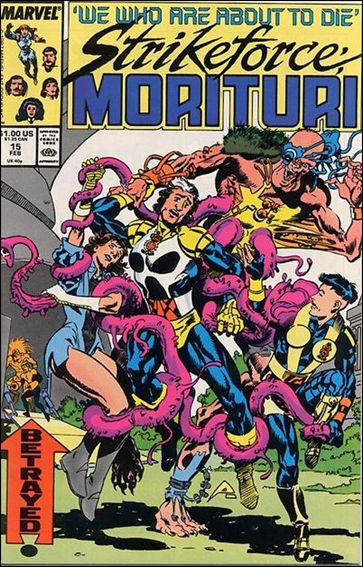 Strikeforce: Morituri 15-A by Marvel