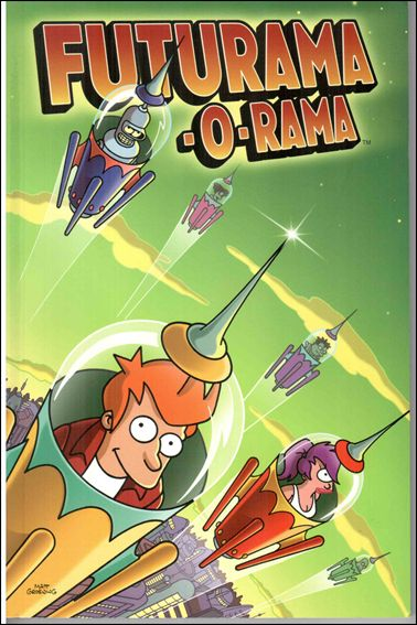 Futurama-O-Rama 1-A by Bongo