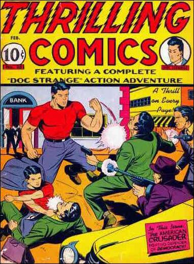 Thrilling Comics (1940) 25-A by Standard