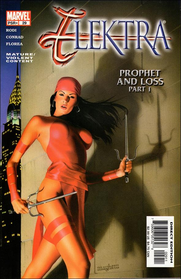 Elektra (2001) 29-A by Marvel