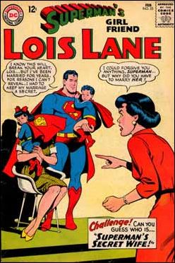 Superman's Girl Friend Lois Lane 55-A by DC