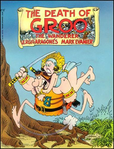 Epic Graphic Novel: Death of Groo 1-B by Epic