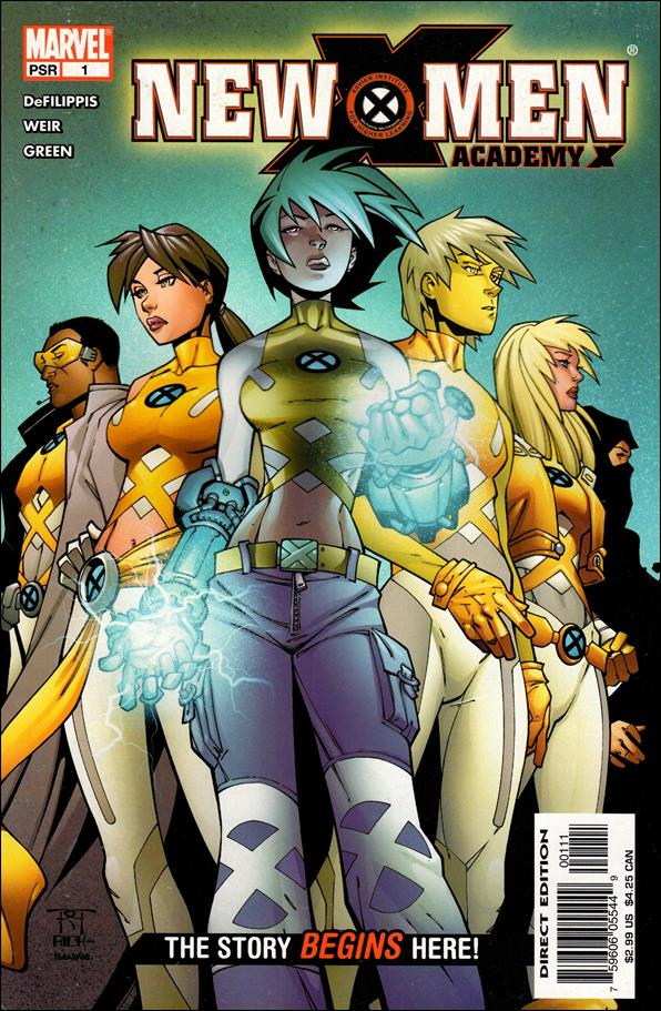 New X-Men: Academy X 1-A by Marvel