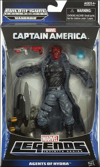 Marvel Legends Infinite: Captain America (Mandroid Series) Agents of Hydra (Red Skull) by Hasbro