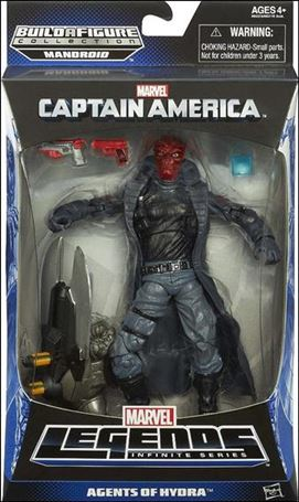 Marvel Legends Infinite: Captain America (Mandroid Series) Agents of Hydra (Red Skull)