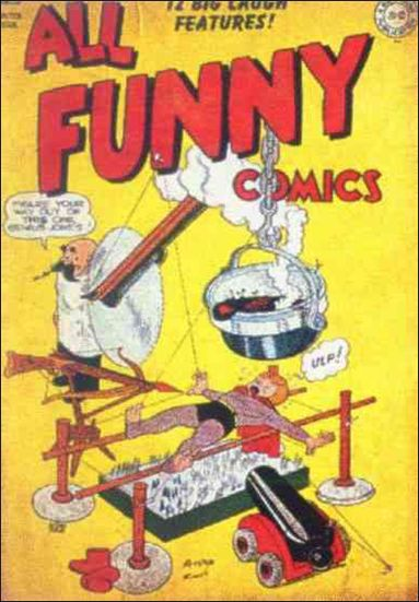 All Funny Comics 5-A by DC