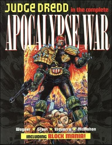 Judge Dredd: The Complete Apocalypse War nn-A by Titan