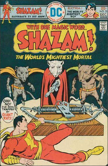 Shazam! 21-A by DC