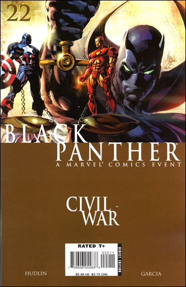 Black Panther (2005) 22-A by Marvel