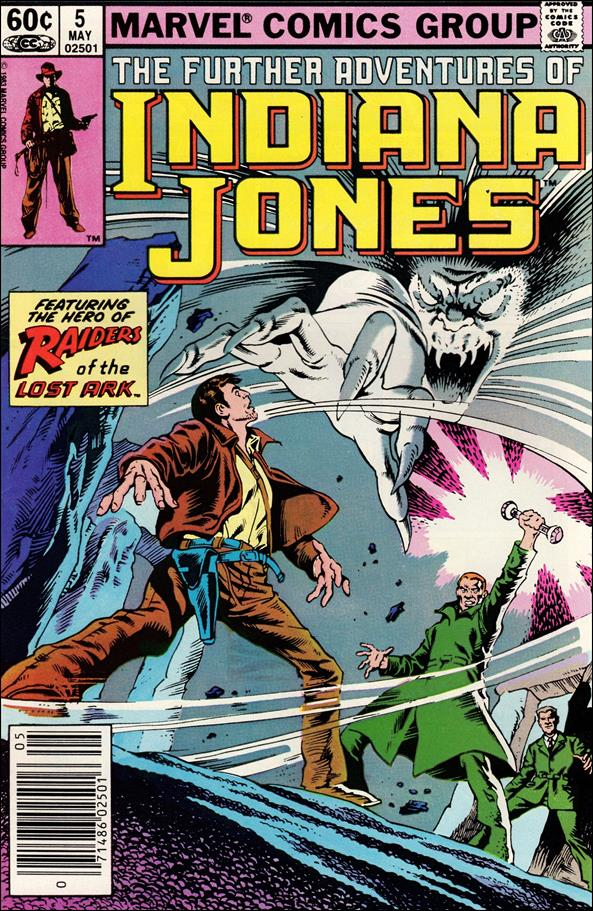 Further Adventures of Indiana Jones 5-A by Marvel