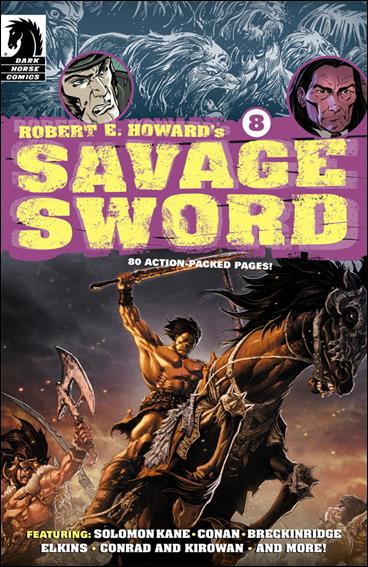 Robert E. Howard's Savage Sword 8-A by Dark Horse