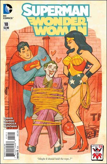 Superman/Wonder Woman 18-B by DC