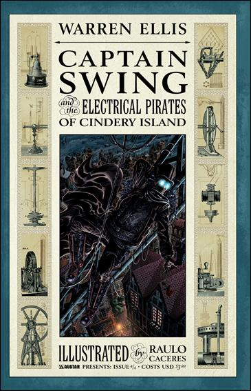 Captain Swing and the Electrical Pirates of Cindery Island 4-A by Avatar Press